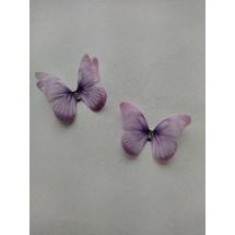 Бабочки шифоновые средние 4,5 см №10, цена за 1 шт
