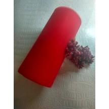 Фатин  15 см цв. красный