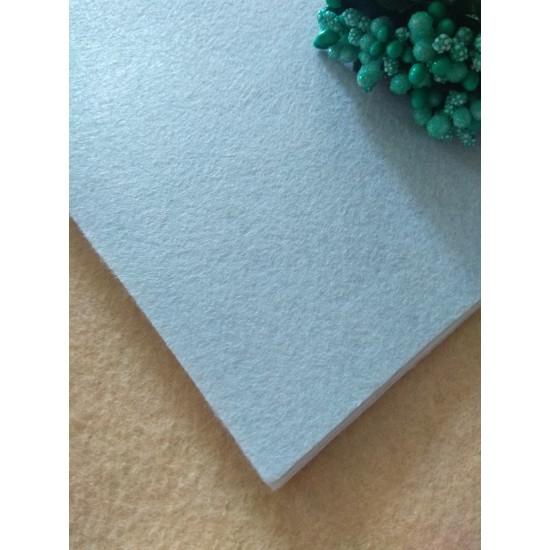 Фетр средней жесткости 1 мм (20*30 см) цв. белый, цена за лист