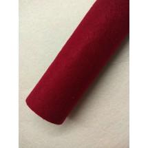 Фетр средней жесткости 1 мм (20*30 см) цв. бордовый, цена за лист