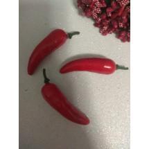 Муляж перца чили 7*1,5 см красный, цена за 1 шт