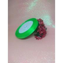 Лента атласная однотонная 0,6 см*25 ярдов, цена за катушку