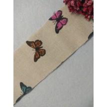 Ткань для рукоделия льняная 6,5см*2м