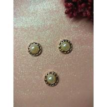 Кабашоны флоризель(пластик) 18 мм, цена за 1 шт