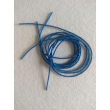Канитель мягкая 1,2 мм цв. синий, цена за 5 гр