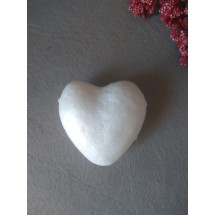 Сердце из пенопласта 60мм , цена за 1 шт