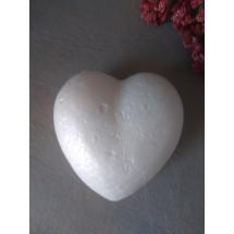 Сердце из пенопласта 85мм , цена за 1 шт