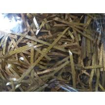 Наполнитель бумажный (глиттер) цв.золото, цена за 50 гр