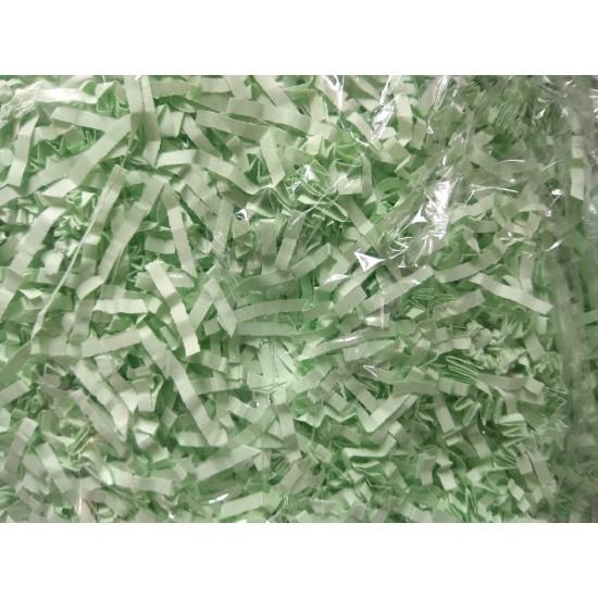 Бумажный наполнитель(цв. мятный), цена за 100 гр