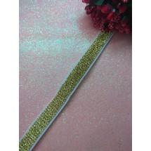 Резинка с люрексом 10 мм, цена за 1 м