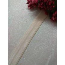 Тесьма эластичная 1,5 см (цв. молочный)