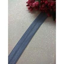 Тесьма эластичная 1,5 см (цв. серый), цена за 1 м