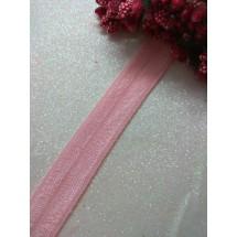 Тесьма эластичная 1,5 см (цв. бледно-розовый)