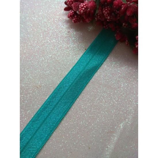 Тесьма эластичная 1,5 см (цв. бирюзовый), цена за 1 м