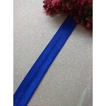 Тесьма эластичная 1,5 см (цв. васильковый)