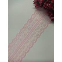 Кружево 4,5 см, цв. нежно-розовый, цена за 1 м