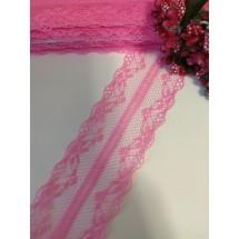 Кружево 4 см (цв. т. розовый), цена за 1 м