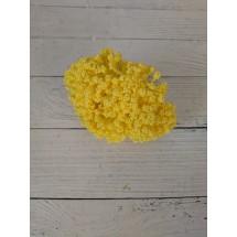 Тычинки декор., 35-40 мм на проволоке в пучках (12 шт) цв. желтый,  цена за пучок
