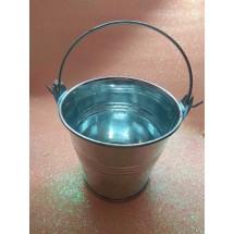 Ведро декоративное (металл) 7см х 7,7см, цена за 1 шт