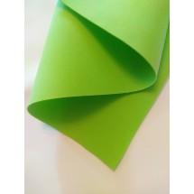 Фоамиран зефирный 1мм (цв. зеленый), цена за лист