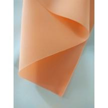 Фоамиран зефирный 1мм (цв.оранжево-персиковый), цена за лист