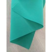 Фоамиран зефирный 1мм (цв. бирюзовый), цена за лист