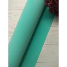Фоамиран зефирный 1мм (цв. св.-бирюзовый), цена за лист