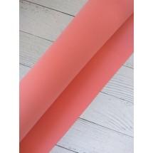 УЦЕНКА Фоамиран иранский 1мм цв. персиково-розовый, цена за лист