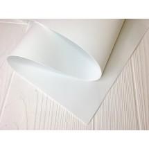 УЦЕНКА Фоамиран иранский 1мм цв. белый 35*60 см, цена за лист