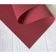 УЦЕНКА Фоамиран иранский 1мм цв. бордо 35*60 см, цена за лист