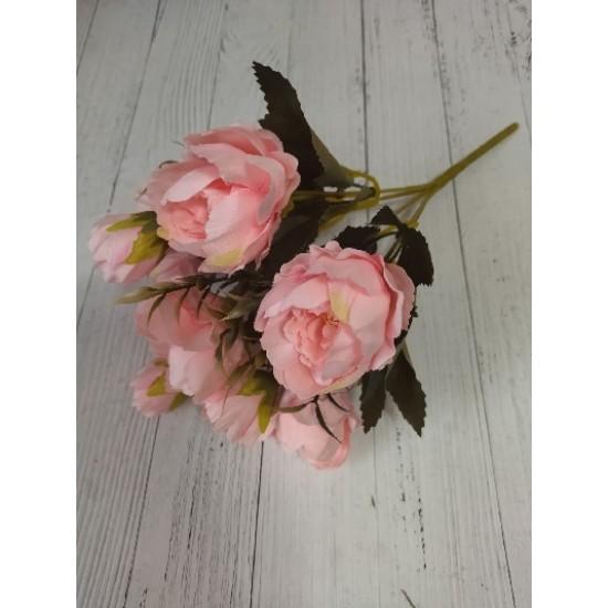 Букет 28 см (8 бутонов 2-6 см) розовый, цена за 1 шт